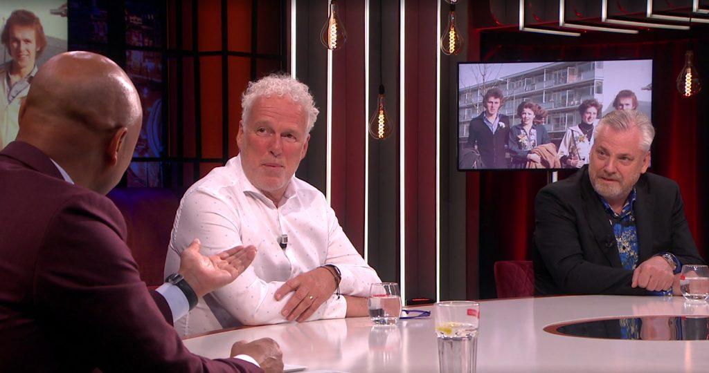 Wouter de Vries en Peter Schouten bij Humberto