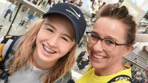 Thumbnail voor Elsbeths dochter Keet (16) stond met skateboard op Olympische Spelen: 'Mega trots'