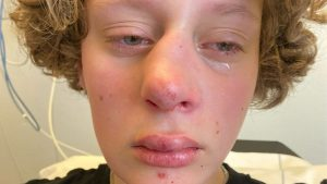 Thumbnail voor Hart onder de riem voor mishandelde Frédérique: 'Stuur haar allemaal een kaartje'