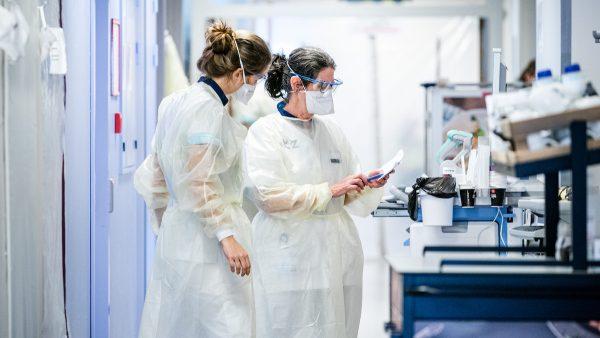 Meer dan 600 coronapatiënten in ziekenhuizen, hoogste aantal sinds half juni