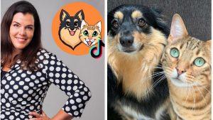 Thumbnail voor Annemariekes hond en kat zijn een hit op TikTok: 'Een lichtpuntje'