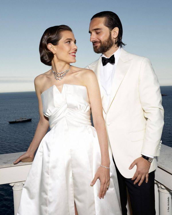 Charlotte Casiraghi droeg meerdere trouwjurken