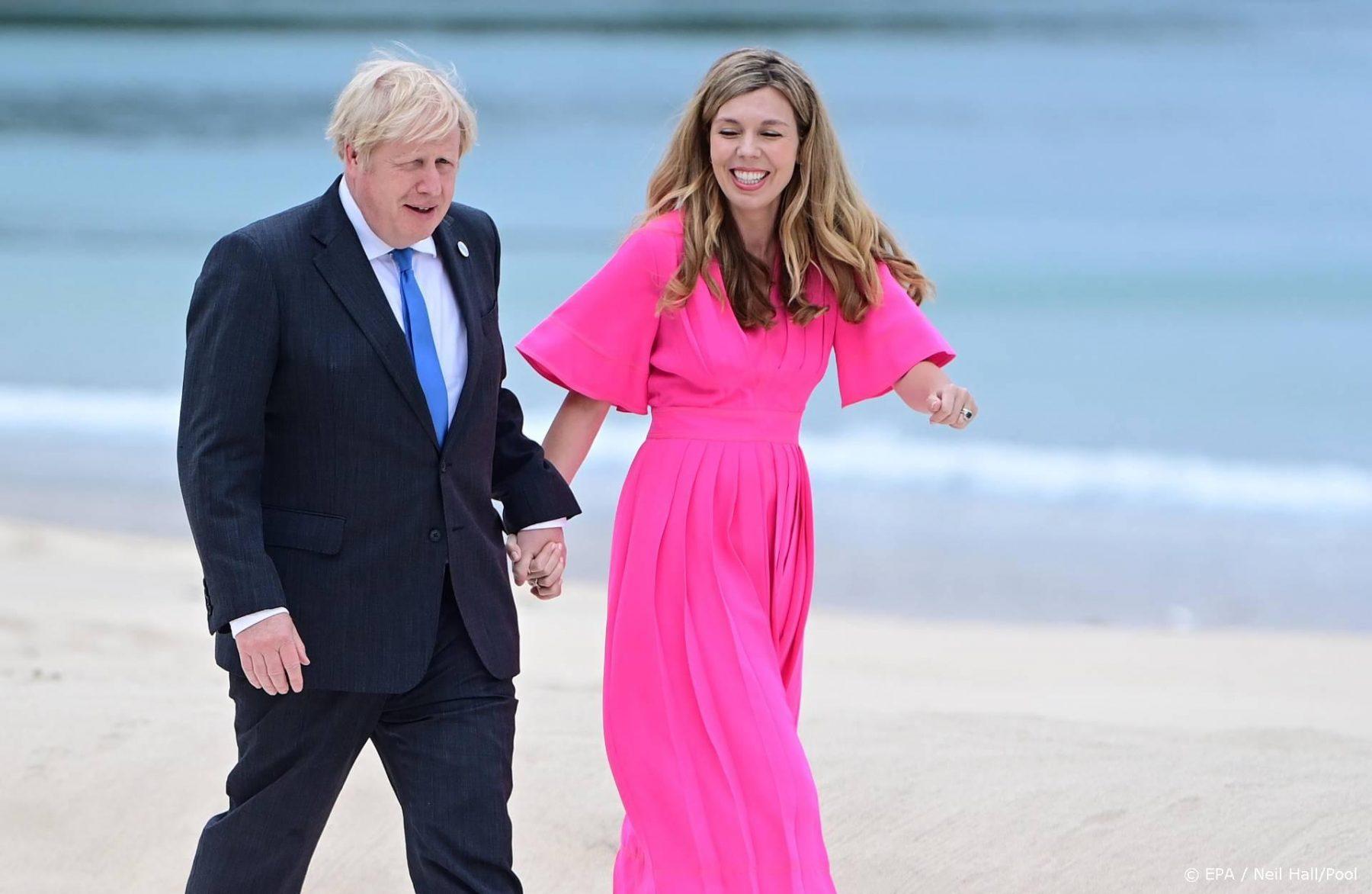 Boris Johnson en vrouw Carrie verwachten tweede kind