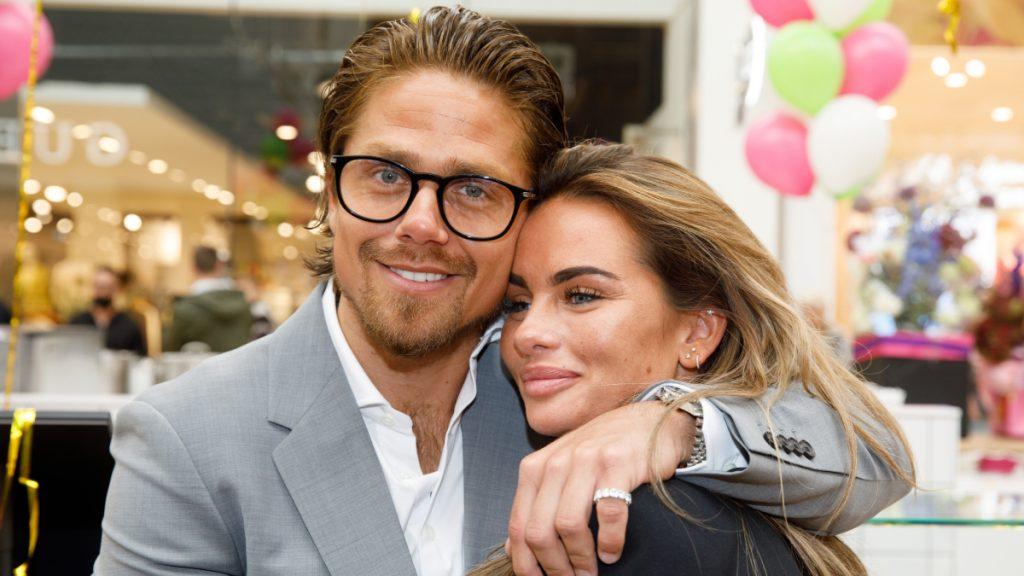 Trots Sarah van Soelen is ontzettend trots op vriend André
