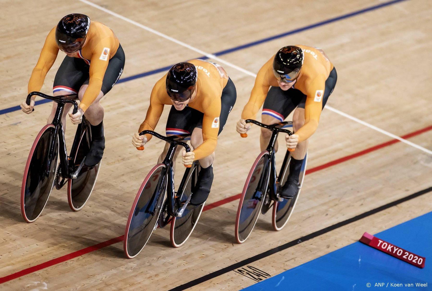 Teamsprinters bezorgen Nederland twintigste - en zesde gouden - plak