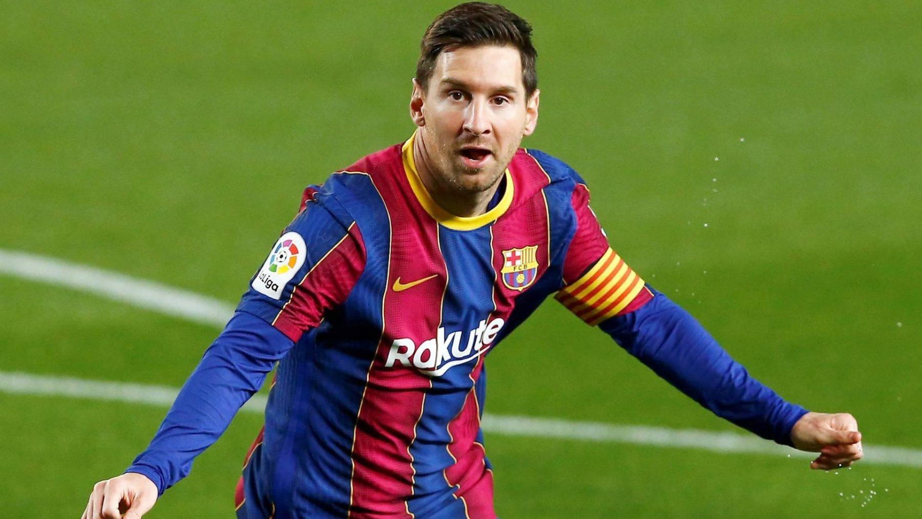 Lionel Messi zou bijtekenen bij FC Barcelona, maar dat ging niet door