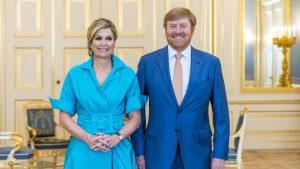 Thumbnail voor Gehuldigde medaillewinnaars brengen bezoek aan koning en koningin