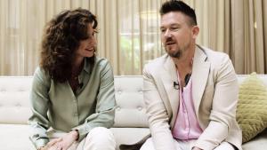 Johnny en Barbara over social media: 'Je krijgt zoveel shit over je heen'