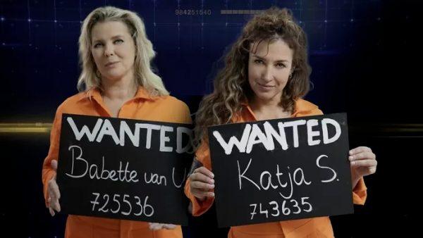 Boevenduo Katja Schuurman en Babette van Veen op de vlucht in 'Jachtseizoen'