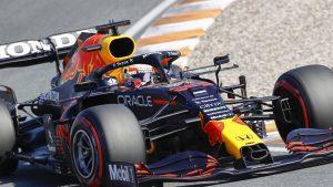 Thumbnail voor Max Verstappen pakt op Zandvoort poleposition voor Dutch GP