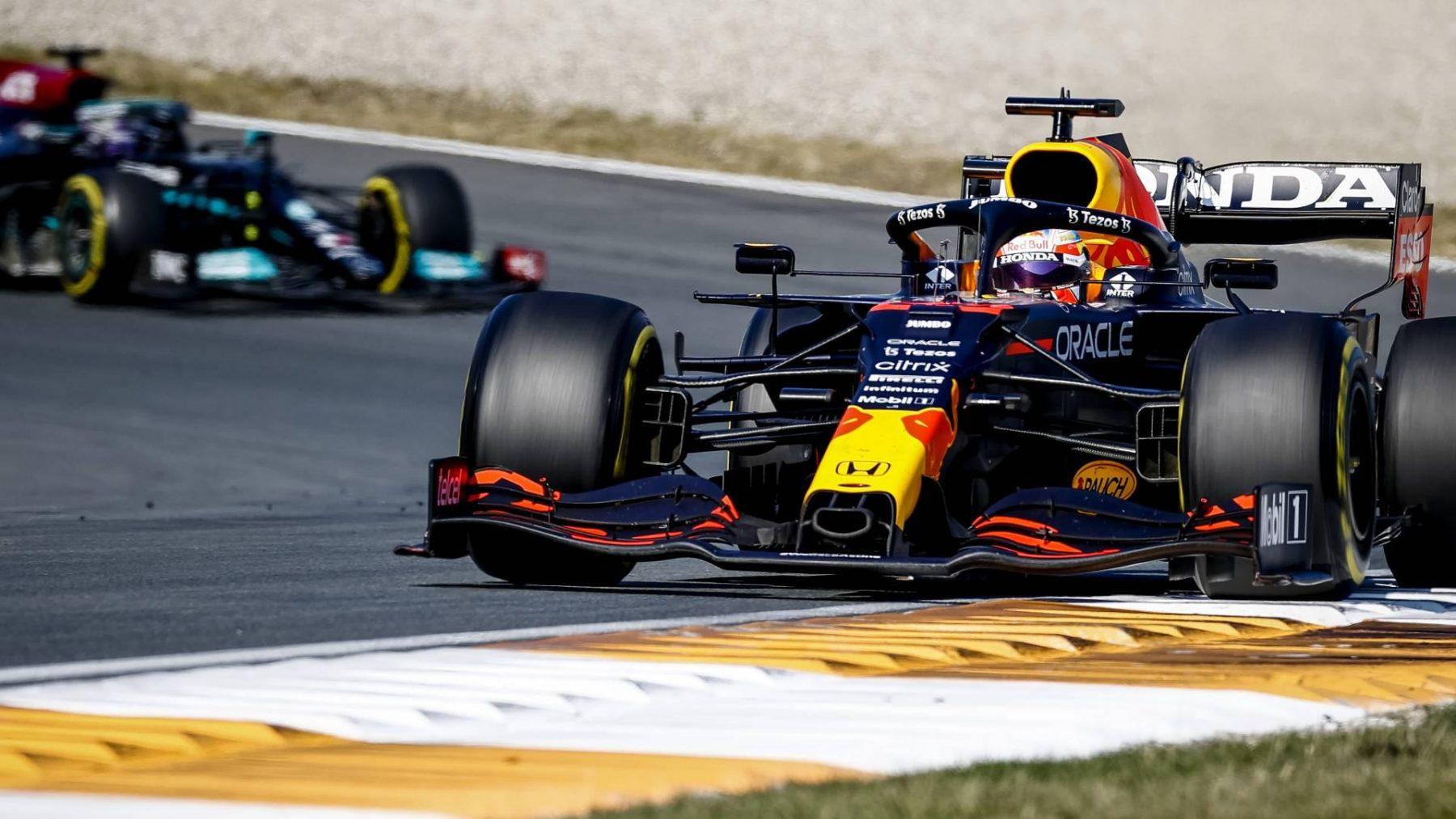 Max Verstappen Verstappen wint Dutch Grand Prix op circuit Zandvoort