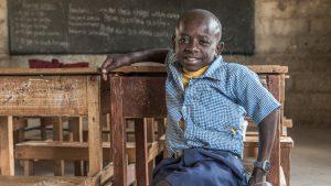 Zó wil Sempeta (12) uit Kenia kinderen helpen die - net als hij - een beperking hebben