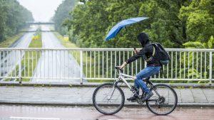 Thumbnail voor Donderdagmiddag code geel in Limburg, vrijdag in heel Nederland