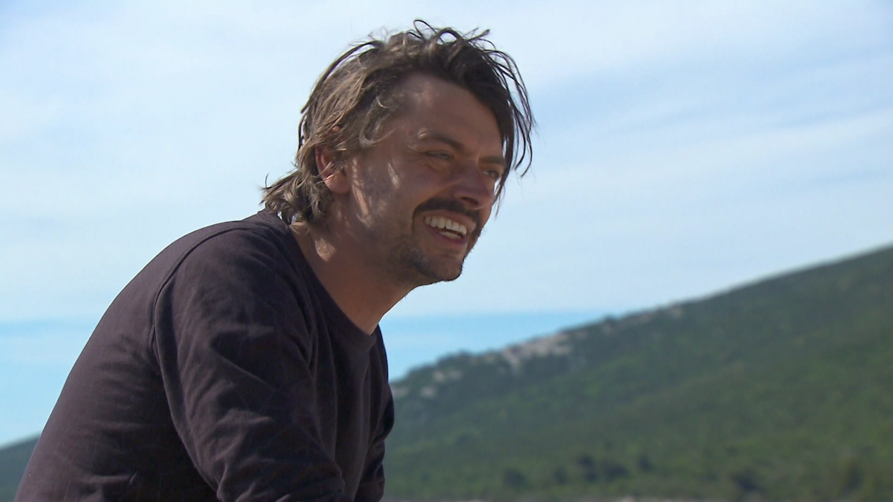 Stefano Keizers in 'Expeditie Robinson'
