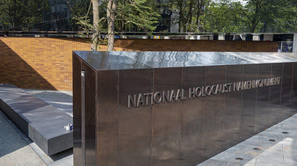 Namenmonument voor Nederlandse Holocaustslachtoffers zondag open