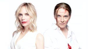 Thumbnail voor Jelka en Bracha over misdaad komedie 'Adem in, Adem uit': 'Loopt behoorlijk uit de hand'
