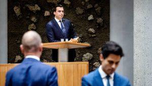 Thumbnail voor D66 en GL verlaten debat na oorlogsvergelijkingen Thierry Baudet: 'Je bent knettergek'