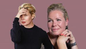 Thumbnail voor Josje lijkt als twee druppels water op Tjitske Reidinga: 'Maar van binnen ben ik meer een Claire'