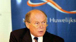 Voormalig minister Beelaerts van Blokland overleden