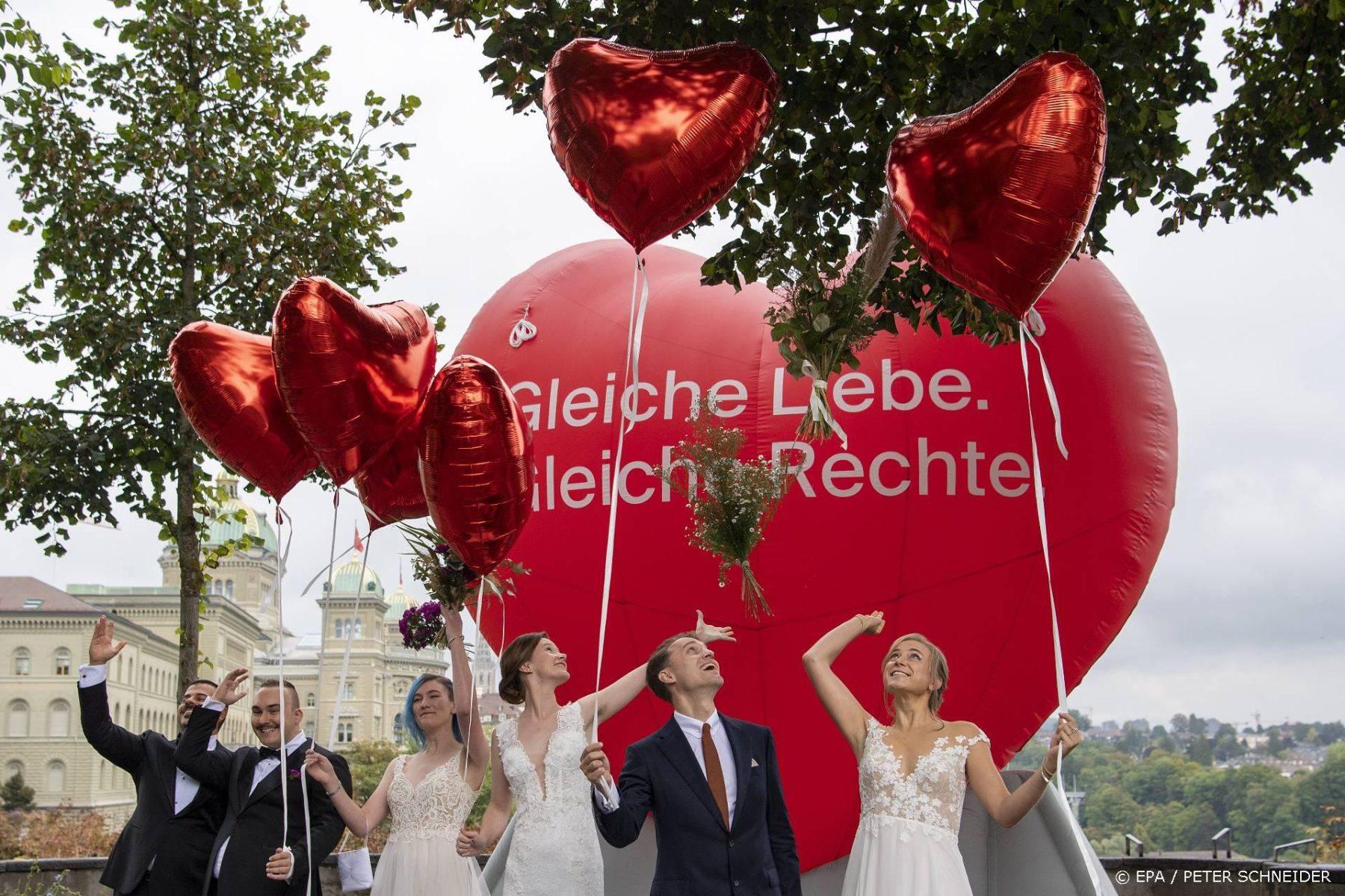 Zwitsers homohuwelijk