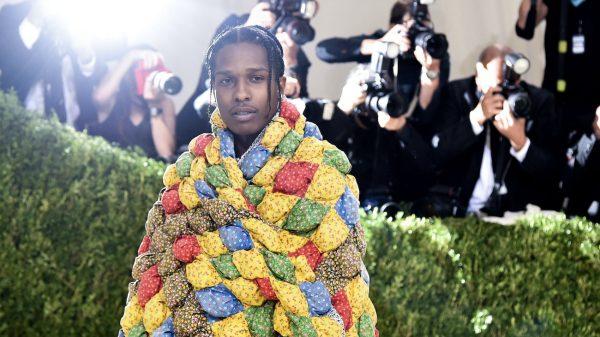 ASAP Rocky met gala sprei