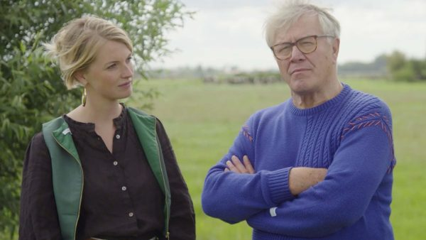 Barrie Stevens en Noortje Veldhuizen