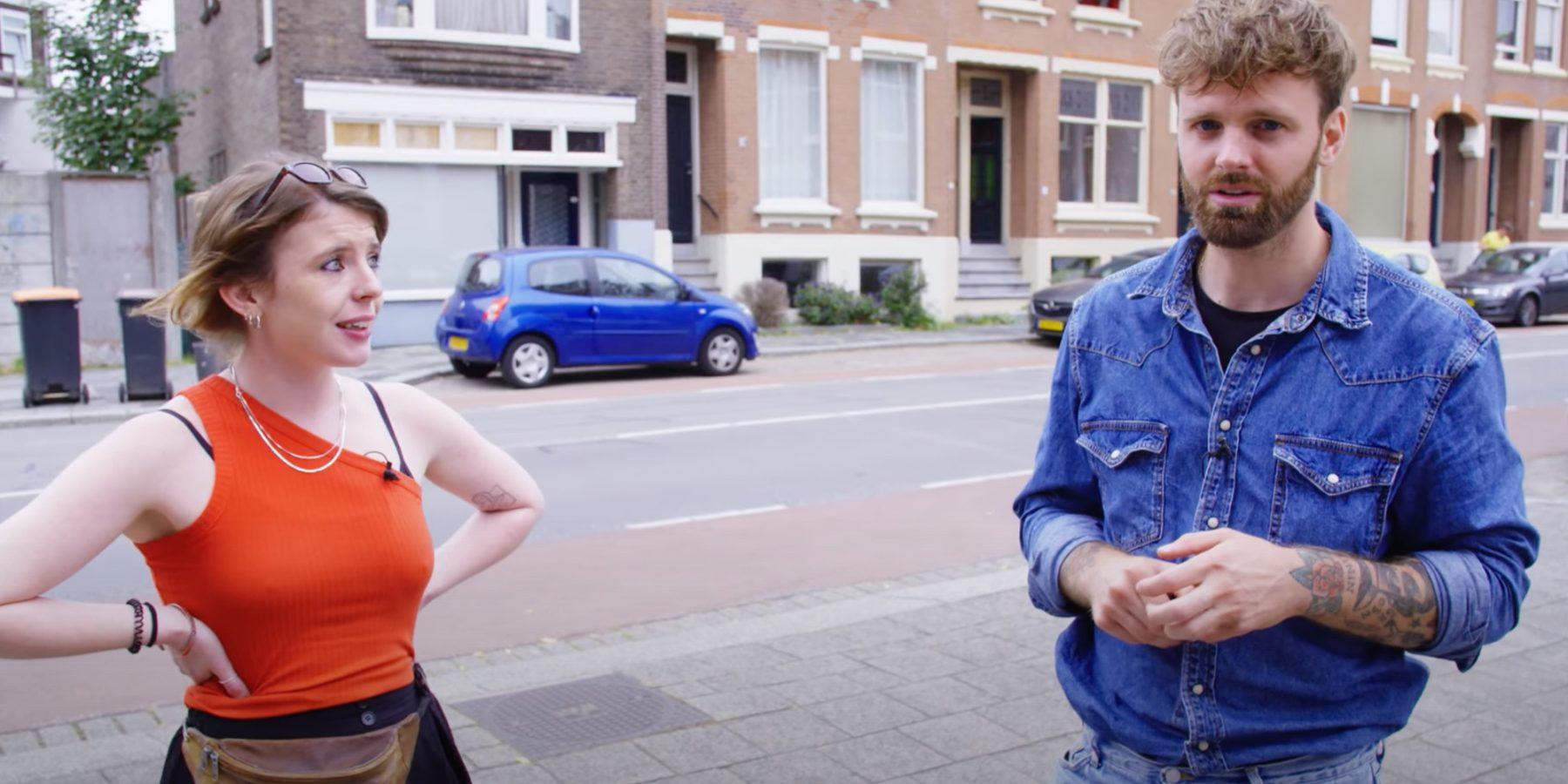 Tim Hofman Boos straatintimidatie
