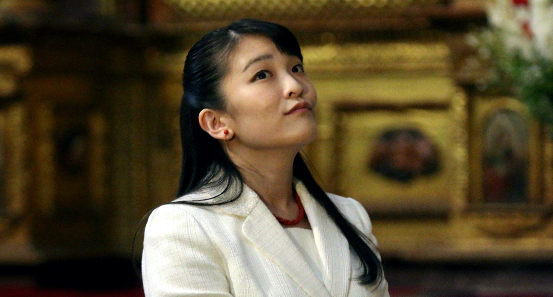 Japanse prinses levert titel en geld in voor huwelijk met 'gewone' man