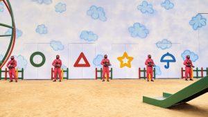 Thumbnail voor Kinderspellen zijn simpel, toch? Dit is de nieuwe Netflix-hit 'Squid Game'
