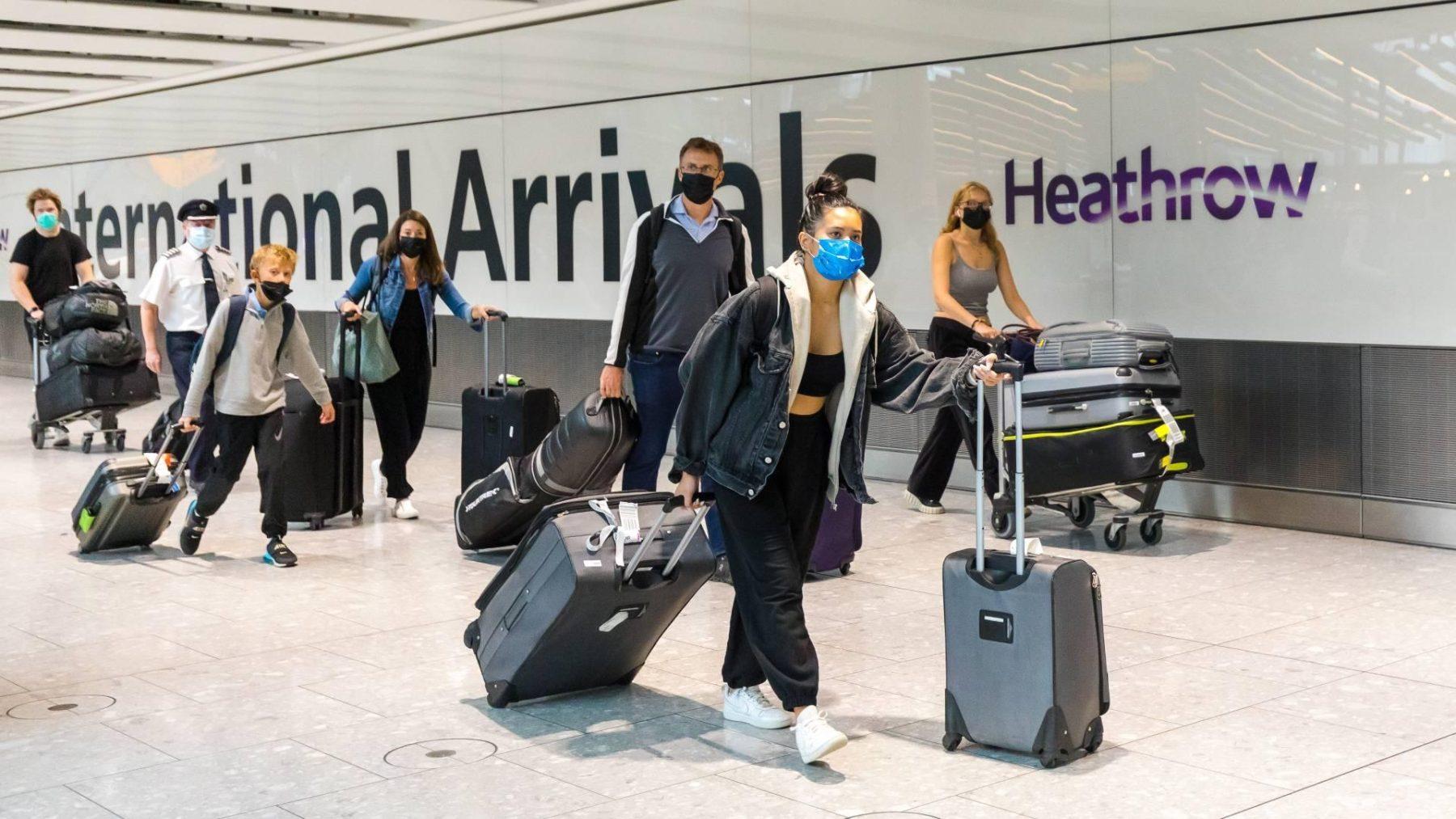 Engeland schrapt het inreisverbod voor reizigers uit 47 landen