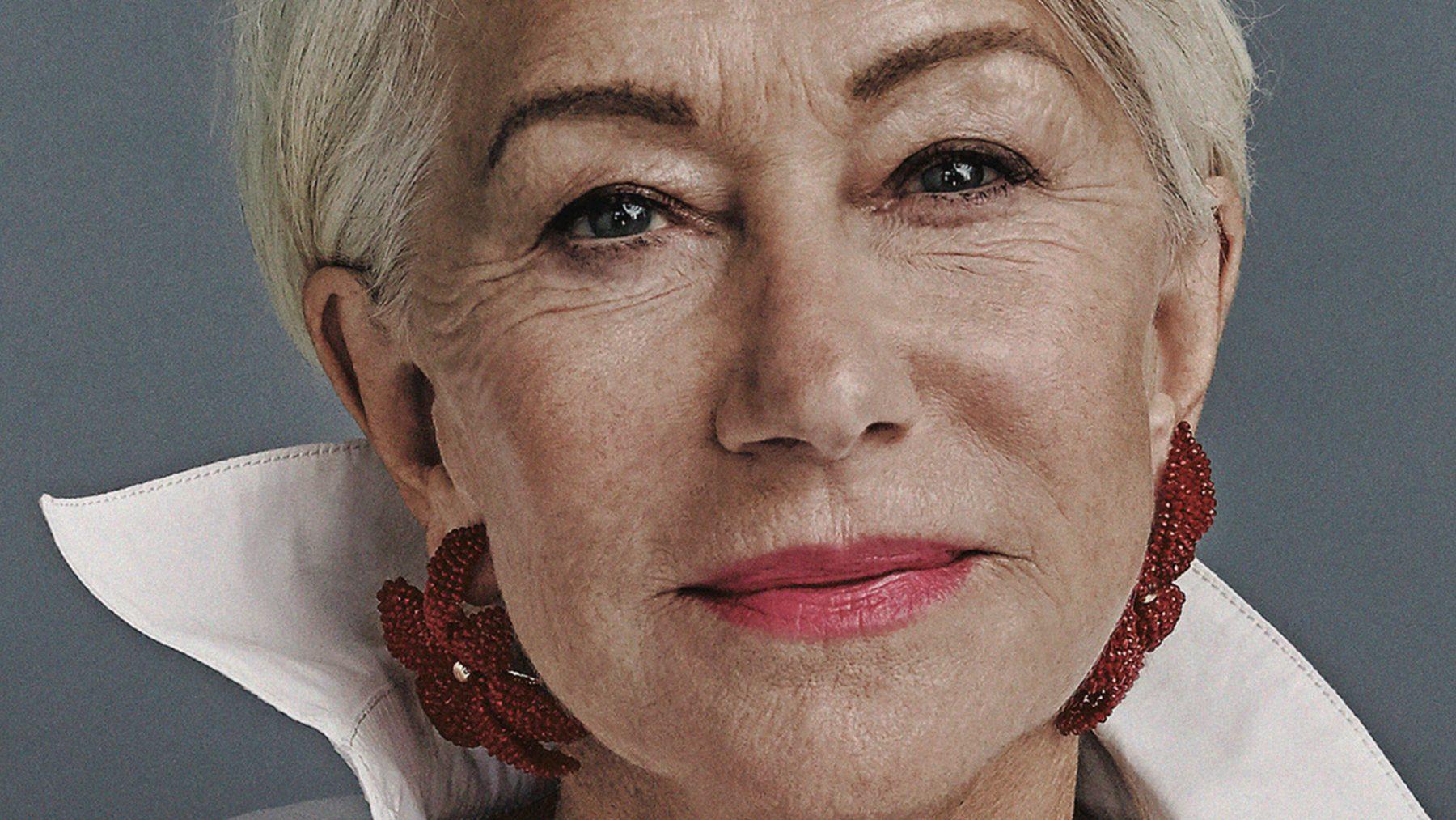 Helen Mirren: 'Oudere vrouwen, experimenteer wat meer met je uiterlijk'