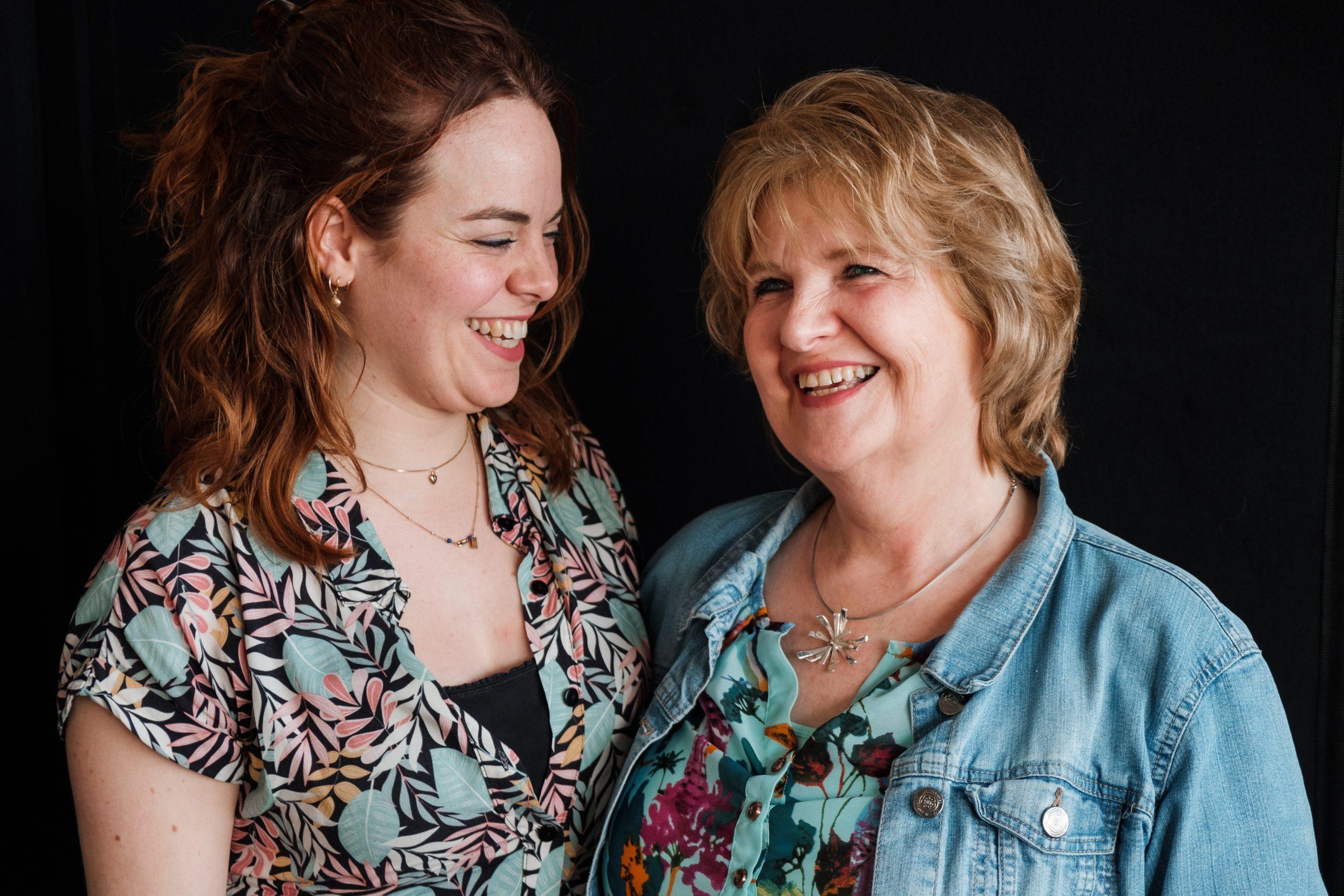 Kelly en haar moeder