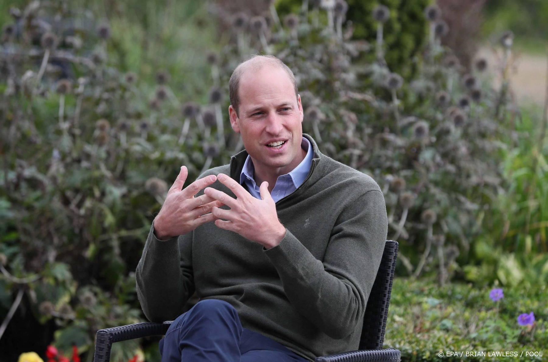 Volgens prins William moeten miljardairs de aarde redden in plaats van ruimterace houden