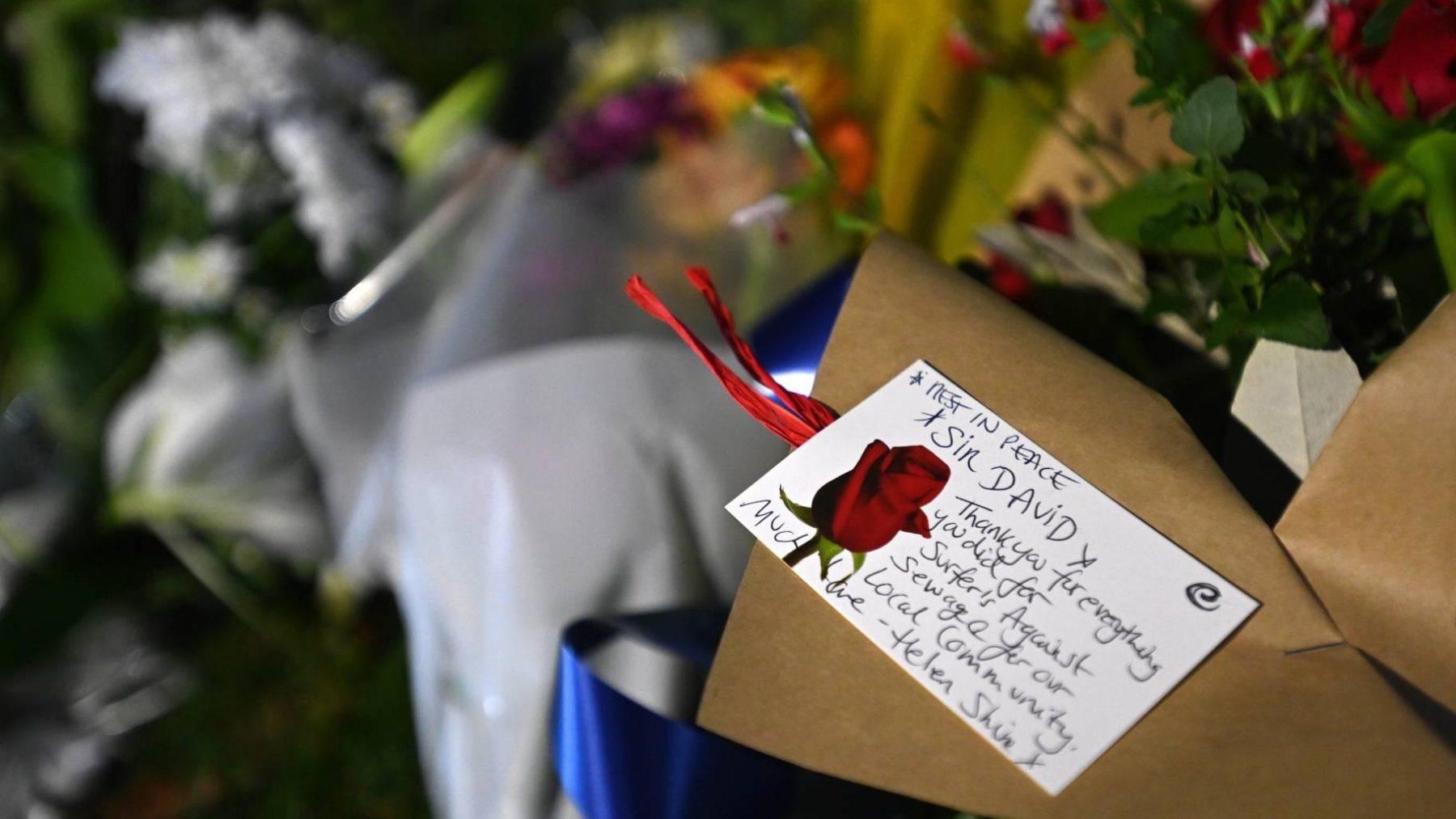 Britse politie ziet moord op parlementslid als terreurdaad