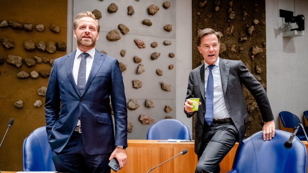 Hugo de Jonge en Mark Rutte dansend te zien in deepfake-filmpje